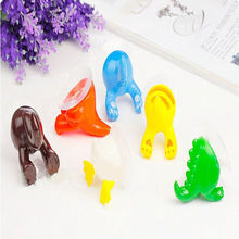 Cute Cartoon Animal Tail Sucker Suction Hook Baby Bathroom Towel Hanger Holder Store(China)