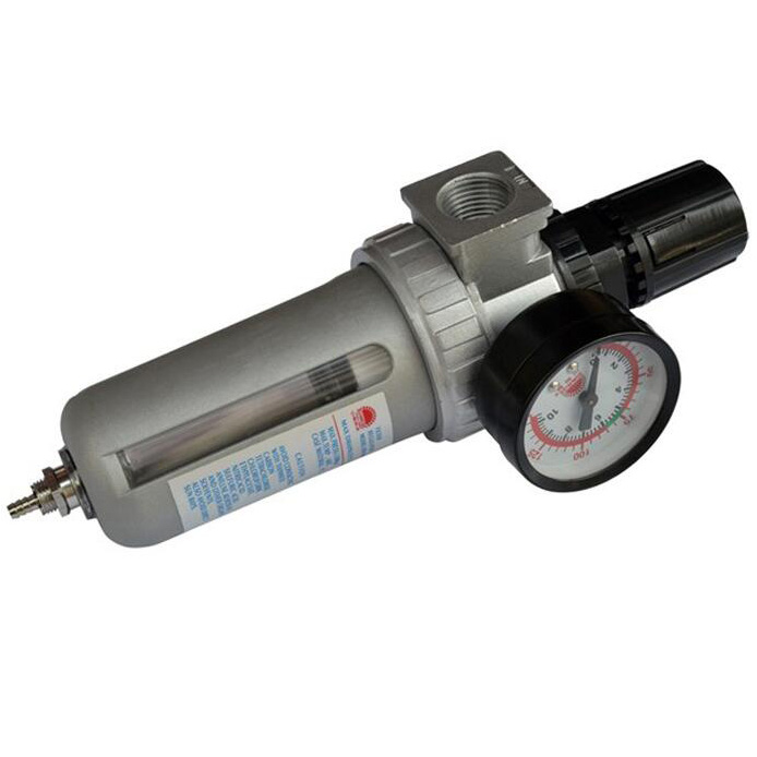 Air compressor oil and water separator Compressed air filter Can be sensitive to adjust the pressure(China (Mainland))