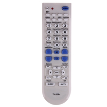 Universal TV Remote Control Replacement Television Remote Control Unit All Functions White for Sony/Samsung/Sharp/Pioneer TV