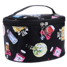 2017 New Fashion Brand Women waterproof Storage Bag Travel Toiletry Storage Bag New arrive PVC Organizer Cases MA896341(China)