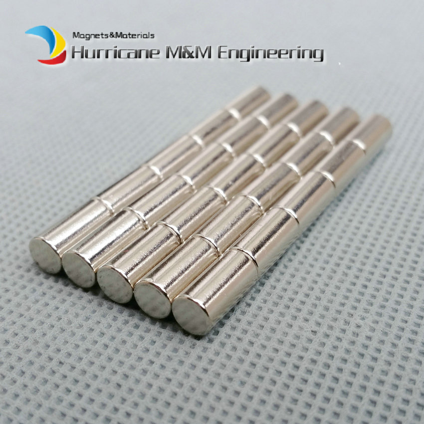 1 pack Grade N42 NdFeB Magnet Disc Dia 5x10 mm 0.2  Diametrically Magnetized Strong Neodymium Permanent Rare Earth Magnets<br>