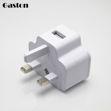 UK Plug USB Wall Charger 5V2A Travel Home Charging Charger Mobile Phones Charge Adapter for Apple iPhone iPad Tablet 1