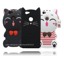 Cute Lovely Cat Design 3D Silicone Cell Phone Cover Case For Huawei Nova 5.0 inch