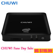 CHUWI Fans Day!! CHUWI HiBox Hero Mini PC TV Box Intel X5 Z8350 4GB RAM 64GB ROM Android 5.1 & Window10 Bluetooth4.0 HDMI WIFI