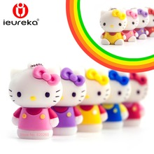 Creative usb pendrive 64GB, Hello Kitty Usb Flash Drive 64gb Pen Drive 32gb Pendrive 4gb 8gb 16gb Cartoon U Disk Memory stick