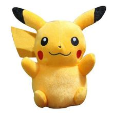 "high quality Anime 6"" Pikachu Plush Toys Collection Pikachu Plush Doll Toys For kids toys Christmas Gift"