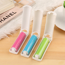 1Pc Portable Mini Foldable Tumble Lint Rollers Washable Electrostatic Dust Brush Cleaning Clothes Easy To Clean Home Supplies(China)