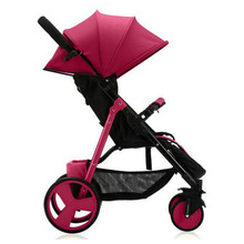 Sld stroller reviews, lightweight stroller, folding stroller, fashionable bright color, free shipping(China)