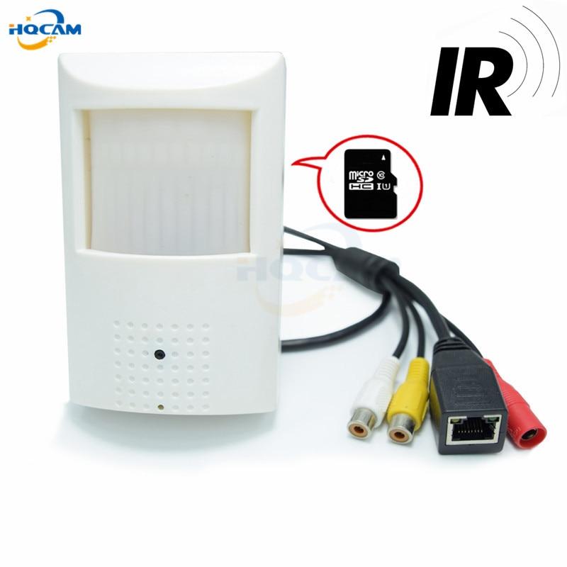 HQCAM 720P Audio\SD Card\ Mini IP Camera 940nm Night vision IR Camera IP Cam Indoor Security CCTV IP Camera Support TF card slot<br>
