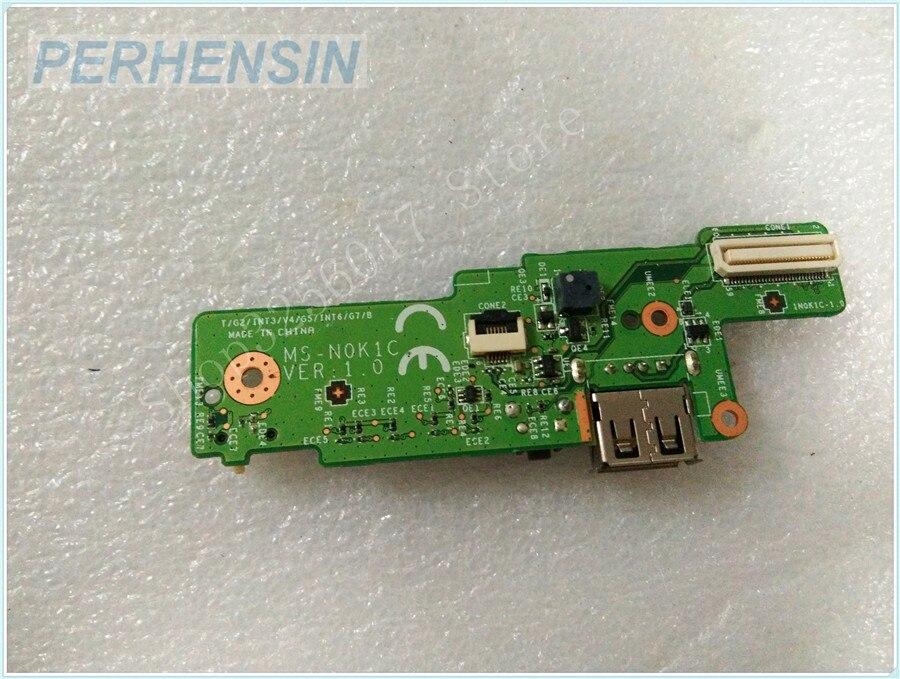 Original Genuine laptop FOR MIS FOR CX610 CX620 MS-N0K1C MS-N0K1 MS-N0K11 USB SWITCH BOARD<br>