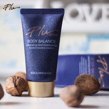 Korea luxurious PLU floral perfume scrub moisturizing Exfoliation rose shower gel body wash walnut hand foot skin exfoliator 50g(China)