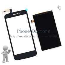 4.5'' Full LCD DIsplay + Touch Screen Digitizer For Alcatel One Touch Pop 2 OT5042 5042 5042D 5042X 5042W ; Black ; New