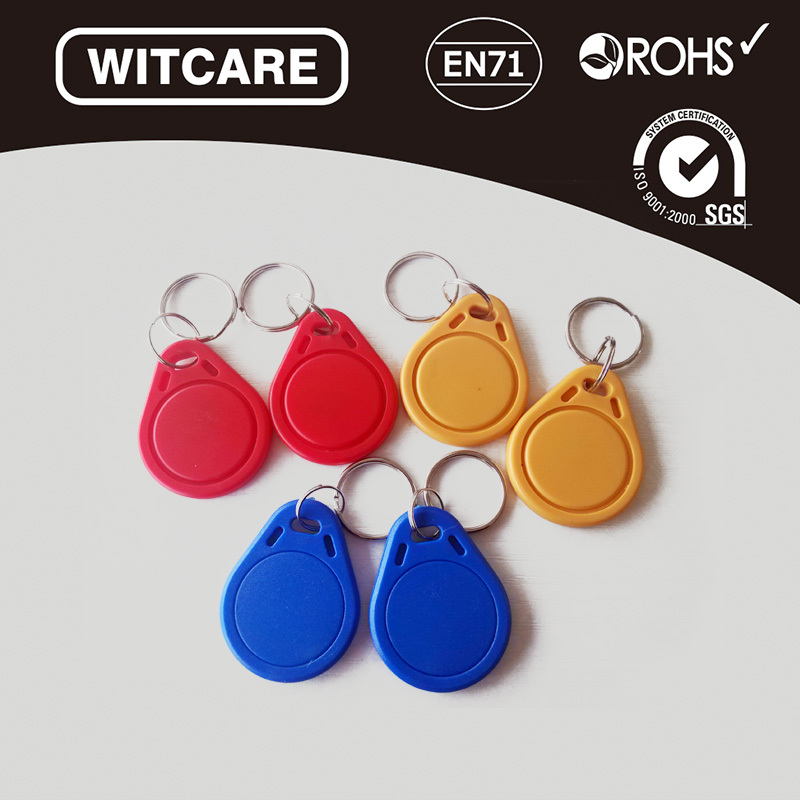 3 Colors* 6pcs/lot 13.56MHz Ntag 203/213 RFID IC Key Tags Keyfobs Token NFC TAG Keychain For Arduino<br><br>Aliexpress