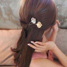 M MISM 2017 Elegant Imitation Pearl Bridal Fine Hairpin Morning Glory Shape Metal Hair Accessories Fashion Hair Clip New