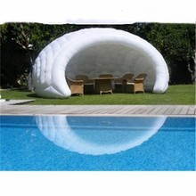 Customized dome tents inflatable camping tent china white transparent tent model tents(China)
