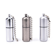 Keychain Waterproof Fire Starter Capsule Oil Petrol Gas Lighter Match Fuel Bushcraft Survive Camp Hike Cigarette Cigar(China)
