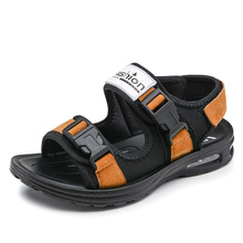Summer new style boys sandals children's casual shoes comfort high quality kids boy student sports sandals