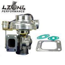 LZONE RACING - WGT35 GT30 Turbine A/R .63 Com A/R .70 T3 flange v-band-79mm TURBO TurboCharger internal wastegate JR-TURBO51(China)