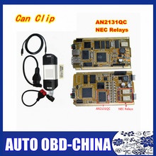 Renault Can Clip V168 With Full Chip AN2131QC  Auto Diagnostic Interface For Renault NEC Relaies OBD2 Diagnostic Scanner