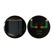 10PCS EPOXY Solar Panel China D 36mm Diy Solar Cell Photovoltaic Panel Modules PV LED Light Toys Sunpower Power Bank Solar Panel