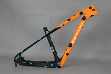 EPS manufacture Processes 27.5er hardtail rigid mtb carbon mountain bike carbon frame ,By adopting whole shaped technology frame(China)