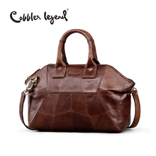 Cobbler Legend 2017 New Arrival Genuine Leather Women Handbags Fashion Crossbody Bags Female Handbag Trend Bag Bolsas #0900507-1(China)