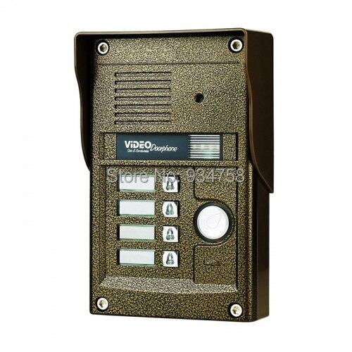 700TVL CMOS Camera For Video Doorphone Doorbell Intercom System Supports 4 Monitors<br><br>Aliexpress