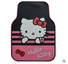 FC004 transparent rubber   Car floor mats Carpets with pvc  waterproof anti-slip mat   pad pedals  sticky pad for silica gel