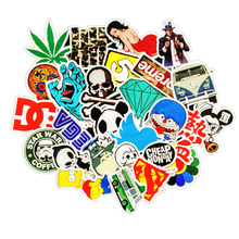 500pcs /lot Mobile phone Sticker Bomb Decal Vinyl Roll Car Skate Skateboard Laptop Luggage for Iphone 5 5s 6 6s 7 for tcl htc