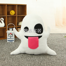 Lovely Movie ghost ElfFacial expression Funny Show plush toys doll holiday Xams Gift Kids Birthday Sofa bed Decoration Pillow