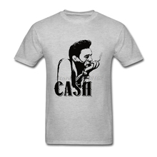 Men Homme Tee Shirts Sites Hipster Tops with Johnny Cash DIY T Shirts Adult Clothing(China)