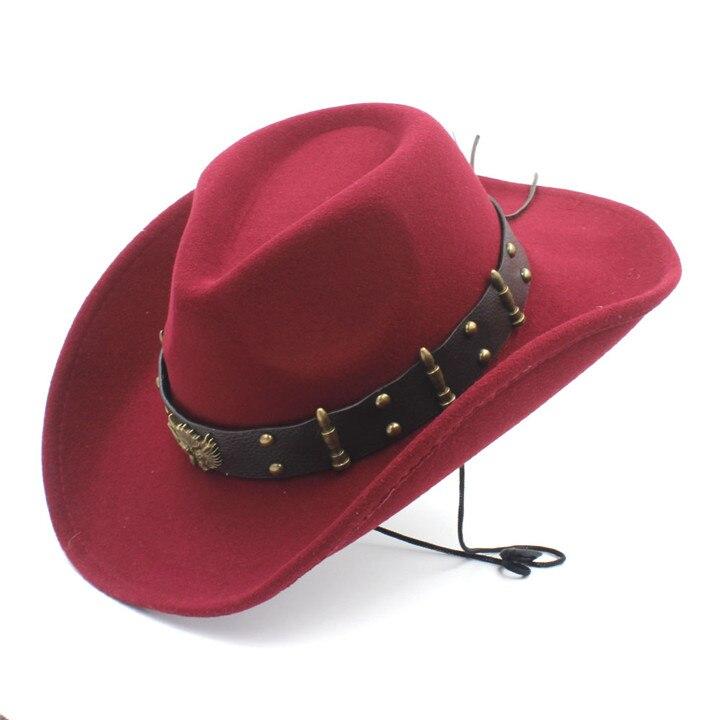 Detalle Comentarios Preguntas sobre Sombrero vaquero occidental con ... 79e6e347420