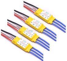 4PCS 30A ESC Brushless Speed Controller With 2A 5V BEC RC ESC for F450 Quadcopter Multicopter