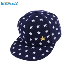 re New Kids Baby Children Baseball cap for 2-5 years Star Pattern Hip Hop Baseball Cap Peaked Hat APR 19Jan 22