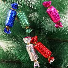 12Pcs Mixed Color Christmas Candy Ornament For Christmas Tree Celebration Party Wedding Birthday Xmas Decoration