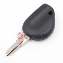 50pcs/lot New Transponder Key Shell for Renault 206 Blade(China)