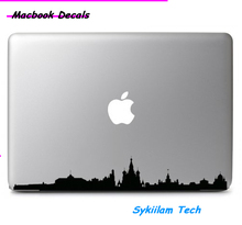 Moscow City Skyline for apple Sticker Macbook Skin Air 11 12 13 Pro 13 15 17 Retina Decal Laptop Wall Car Vinyl Logo