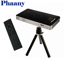 Phaany C6 Mini Projector Portable DLP 5G Wifi Bluetooth 4.0 Projector Android 1G+8G/16G ROM with 2.4G Remote Support TF Card