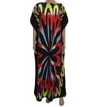tilapia fashion brand new arrivals women big size summer dress loose clothing ankara gown femme vestidos dashiki gorgeous(China)