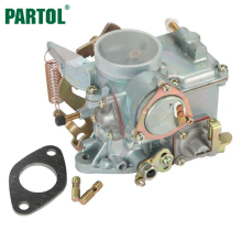 Partol Car Carburetor EMPI 34 PICT-3 Electric Choke Fuel Cutoff Valve For Volkswagen Super Beetle Thing Karmann Ghia Squareback(China)