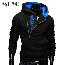6XL Fashion Brand Hoodies Men Sweatshirt Male Zipper Hooded Jacket Casual Sportswear Moleton Masculino Assassins Creed Outwear(China)