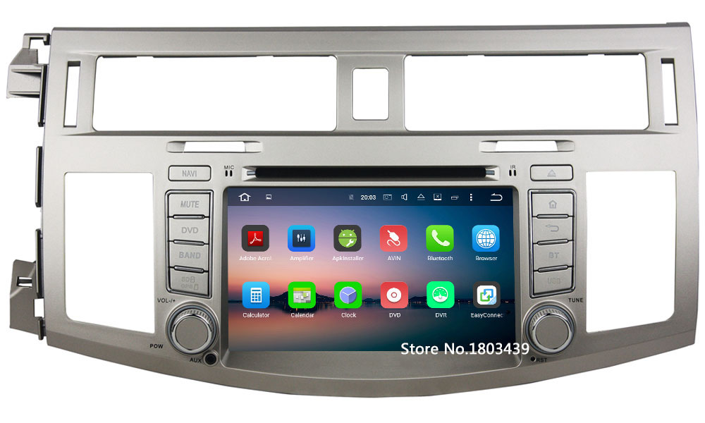 Android 6.0.1 8Core 2GB RAM 32GB ROM Car multimedia Player GPS Navi For Toyota Avalon 2005 2006 2007 2008 2009 2010 2011 2012