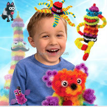 Mega Pack New Building Toy 400 Pieces DIY Kids Play 36 Accessories Kit Children Best Gift