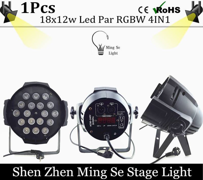 1pcs 18x12w led Par lights RGBW 4in1led dmx512 disco lights professional stage dj equipment<br>