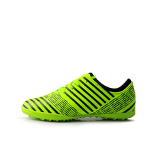TIEBAO A77051 Adult Turf Football Boots Outdoor TF Soccer Shoes Green Orange Soccer Boots New Launch Football Shoes Women Men