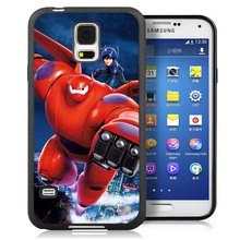 Big Hero Unique Cell Phone Case Bag For Samsung Note 2 Note 3 Note 4 Note 5 S3 S4 S5 S7 S6 edge plus Soft Rubber Skin Cover