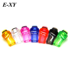 Buy E-XY 510 silicone disposable drip tips Test Drip Tips Mouthpiece Individually Package 7 colors optional vape for $3.24 in AliExpress store