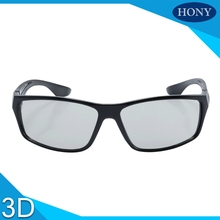 10pcs Wholesale 3D Circular Polarized Glasses For Alll Passive RealD 3D Cinemas,Circular Polarized 3D Glasses Eyewear for LG TVs(China)