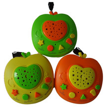 QITAI New Russian Apple Stories Teller,Baby phone kids education toys Russia Learning Machine Children Educational Learning Toy(China)