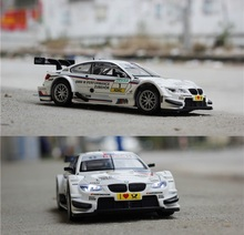 1:32 Scale Diecast Alloy Metal Luxury Racing Car Model For The M3 DTM Collection Model Pull Back Toys Car With Sound&Light